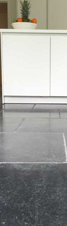 modern bluestone tile in floor and walls Adelaide