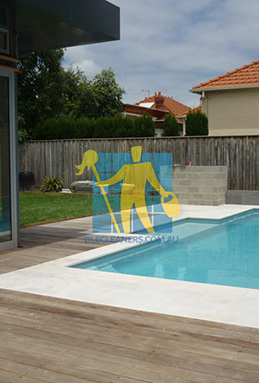 outdoor sandstone tiles pool coping snow white Gawler