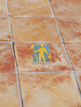 large terracotta tiles sample squares brand new mediterranean floor tiles grey grout rustic look old